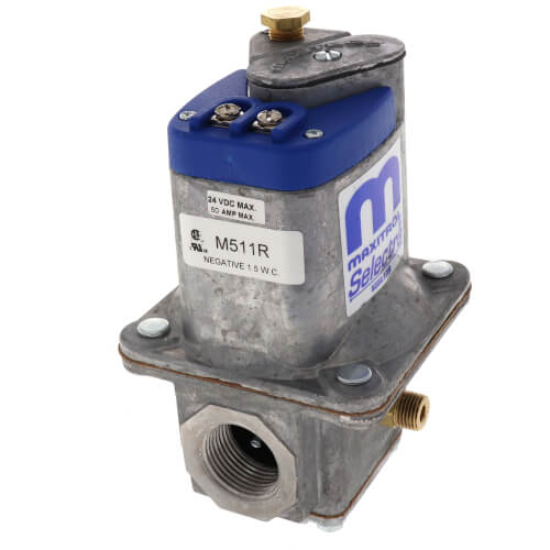 "3/4"" Modulating Gas Valve Right Side Outlet Product Image"