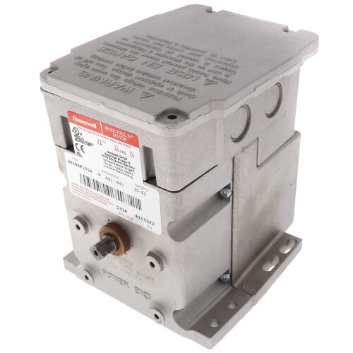 24V Non-Spring Return Foot Mounted Actuator w/ 2 Internal Aux. Switches,  150 lb-in. torque Product Image