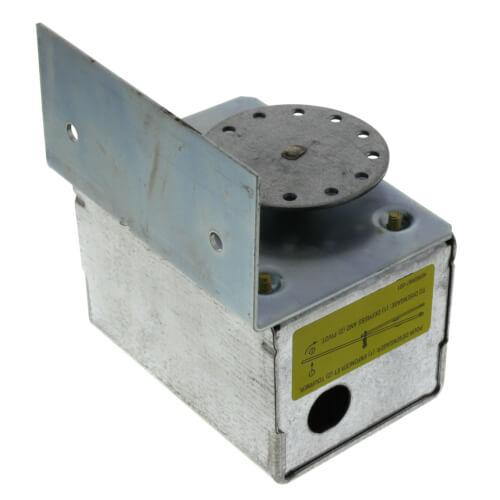 M847a1072 honeywell m847a1072 24v 2 position damper for Honeywell damper control motor