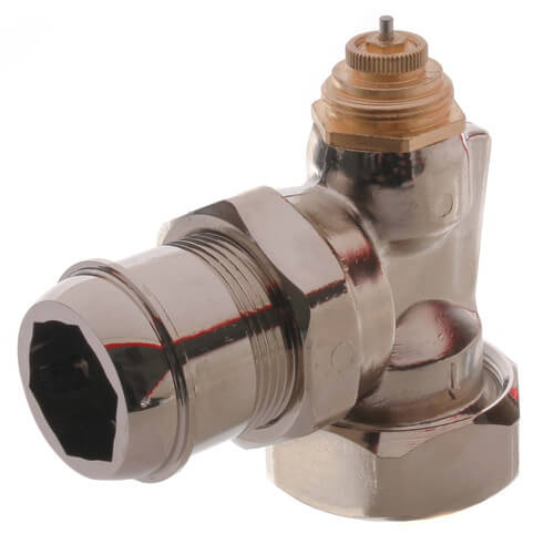 "1-1/4"" NPT x 1-1/4"" Male Union Horizontal Angle Valve with Straight Nipple (9000182) Product Image"