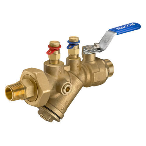 """3/4"""" Sweat AB Automatic Flow Control Balancing Valve (3.00 GPM) Product Image"""