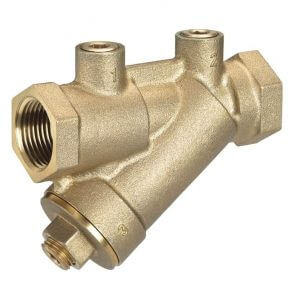 "1/2"" FNPT AL Low Lead Automatic Flow Control Balancing Valve (2.50 GPM) Product Image"