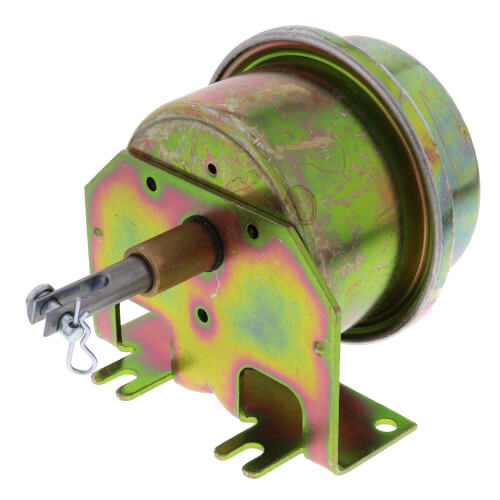 "1-11/16"" Metal Smoke Control Damper Actuator, 5-10 PSI with Bronze Bushing, Clevis & Cotter Pins Product Image"