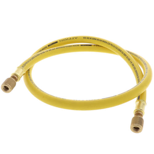 """3/8"""" MegaFlow High-Speed Recovery Hose, 4', 1/4"""" x 1/4"""" Flare (Yellow) Product Image"""