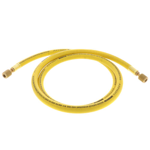 """3/8"""" MegaFlow High-Speed Recovery Hose, 6', 1/4"""" x 1/4"""" Flare (Yellow) Product Image"""