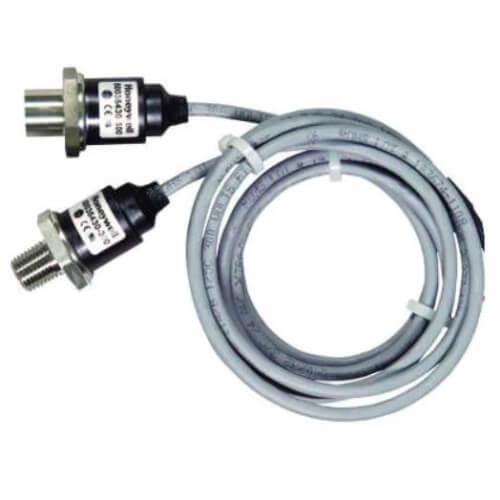 """MLH Series Gauge Pressure Sensor (0-1000 psig, 4-20mA, 1/4"""" SAE Female Schrader) Product Image"""