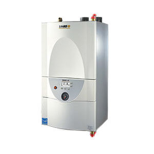 142,500 BTU Output Mascot LX High Efficiency, Wall Mount Combi Water Tube Boiler (NG or LP) Product Image