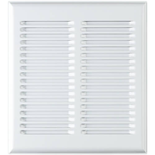 InVent Series Bathroom Ventilation Fan Metal Grille, White Product Image