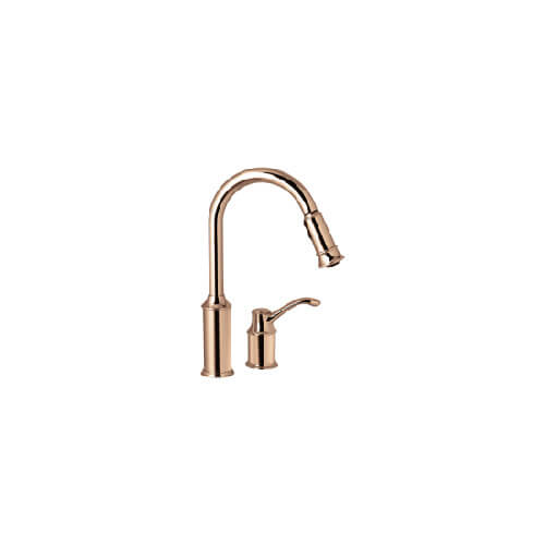 7590cpr Moen 7590cpr Aberdeen Single Handle Copper