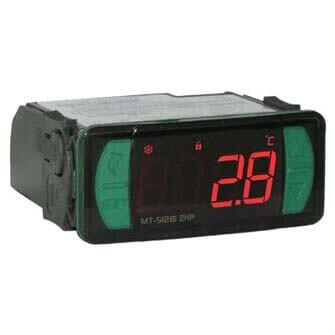 12/24v Digital Controller and Indicator with Natural Defrost through Compressor Shutdown (32°-122°F) Product Image