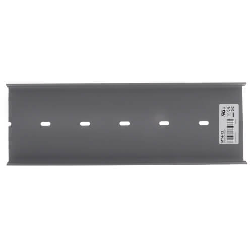 """12"""" x 4"""" Mounting Track for Relays, Current Sensors, and Power Supplies Product Image"""