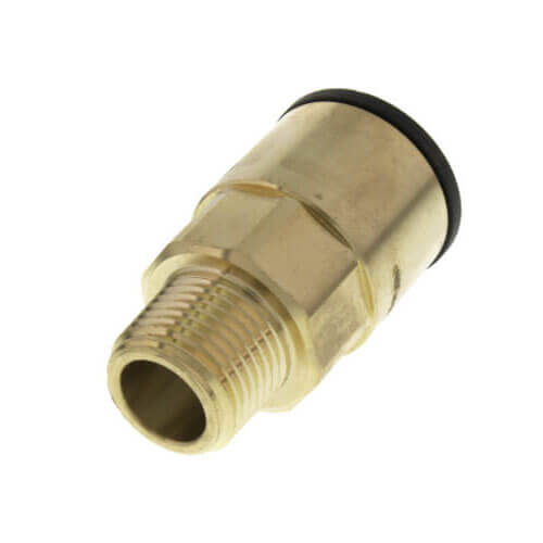 """3/4"""" CTS x 1/2"""" NPT ProLock Brass Male Adapter Product Image"""