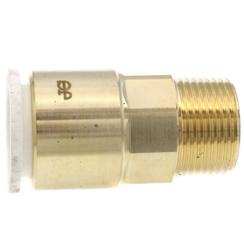 """3/4"""" CTS x 3/4"""" NPT Speedfit Brass Male Connector (Low Lead) Product Image"""