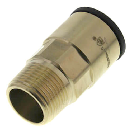 """1"""" CTS x 1"""" NPT ProLock Brass Male Adapter Product Image"""