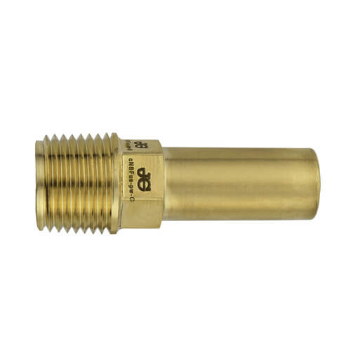 "1/2"" CTS x 1/2"" NPT Speedfit Brass Male Stem Adapter (Low Lead) Product Image"