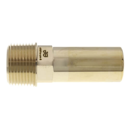 "3/4"" CTS x 3/4"" NPT Speedfit Brass Male Stem Adapter (Low Lead) Product Image"