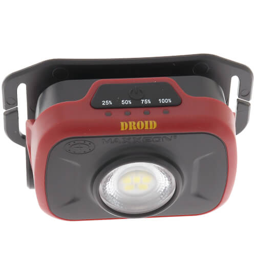 WorkStar 500 Droid Technician's Rechargeable LED Mini Headlamp Product Image