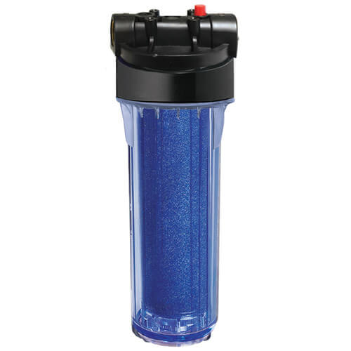 "1/2"" FNPT Demineralizing Filter Housing and Color Changing Cartridge Product Image"