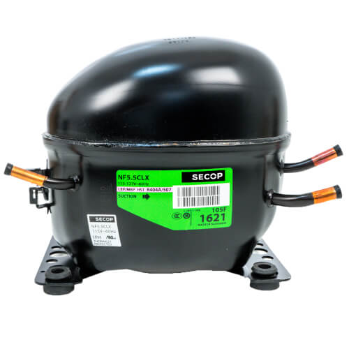 1376 BTU Reciprocating Compressor R-404A/R-507, 1/3 HP (115V) Product Image