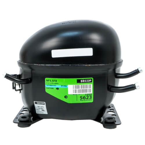 695 BTU Reciprocating Compressor R-134A, 1/4 HP (115V) Product Image