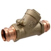 "1/2"" Copper Press Swing Check Valve (Lead Free) Product Image"