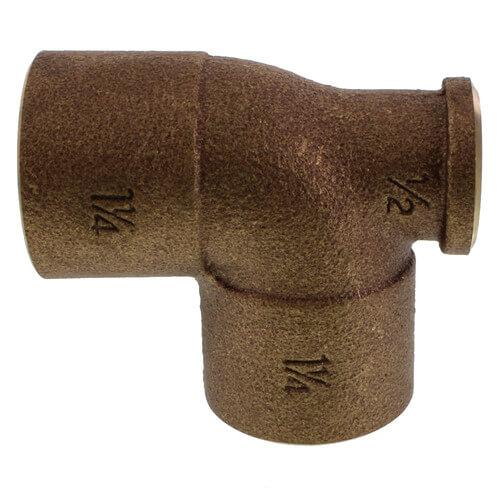 "1-1/4"" x 1/2"" x 1-1/4"" CxFxC Tee (Lead Free) Product Image"