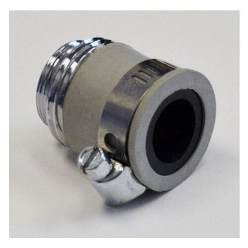 """No Threads Pipe Adapter w/Male 55/64"""" end Product Image"""