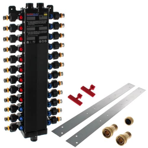 Press Supply 24 Port Polymer PEX Press MANABLOC Package
