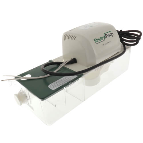 NT1-P Condensate Neutralizer Tank w/ High Lift Pump & Media (1.9 Gal/hr) Product Image