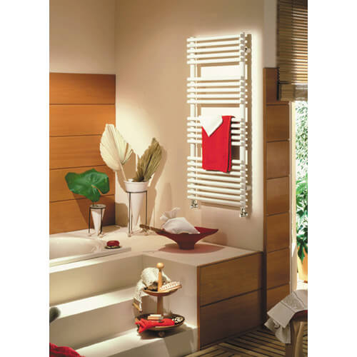 "20"" x 33"" Neptune Plug-in Electric White Towel Radiator (NTREG-3320) Product Image"