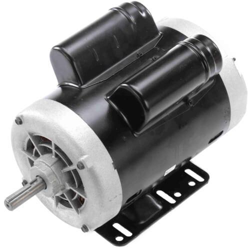 "6-1/2"" PSC Capacitor Start/Run General Purpose Motor (1 HP, 115/230V, 1725 RPM) Product Image"