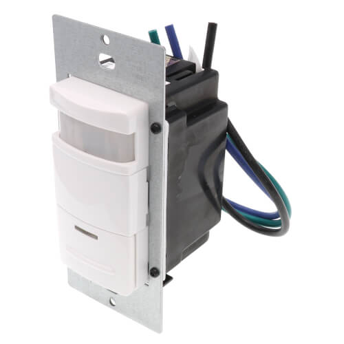 PIR 180 Degree Occupancy Sensor, Wall Switch 2100 Sq. Ft. - White Product Image