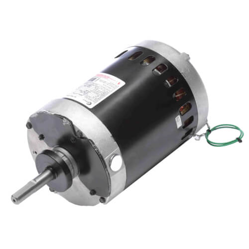 "6-1/2"" Vertical Condenser Fan Motor (460-200/230V, 850 RPM, 1 HP) Product Image"