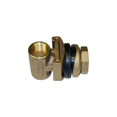 """2"""" Tapped Pitless Adapter w/ 1/4"""" Tapping for Underground Tanks / Dirty Water Product Image"""