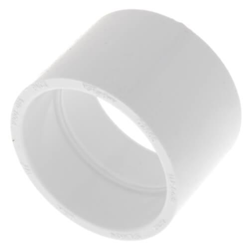 "1-1/2"" PVC DWV Coupling Product Image"
