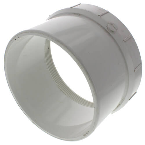 """8"""" PVC DWV Fitting Cleanout Adapter Product Image"""