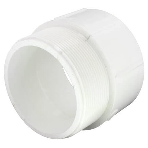 """6"""" PVC DWV Male Adapter Product Image"""