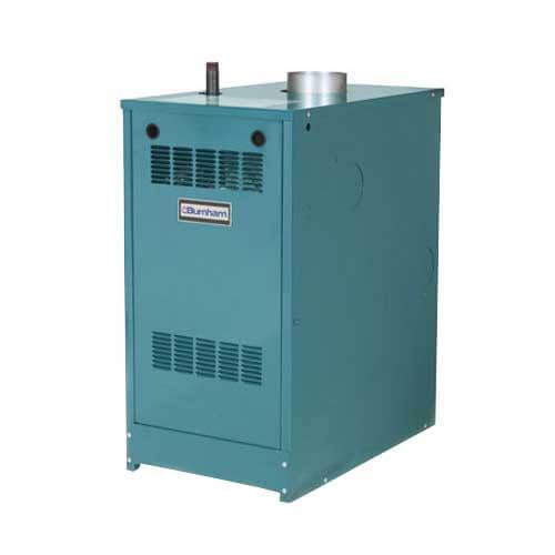 P208 166,000 BTU Output, Standing Pilot Cast Iron Boiler (Nat Gas) Product Image