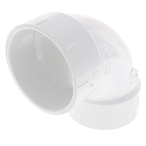 "3"" PVC DWV 90° Elbow Product Image"
