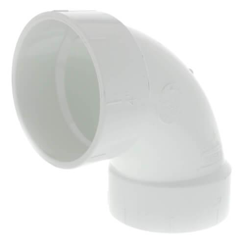 "4"" PVC DWV 90° Elbow Product Image"
