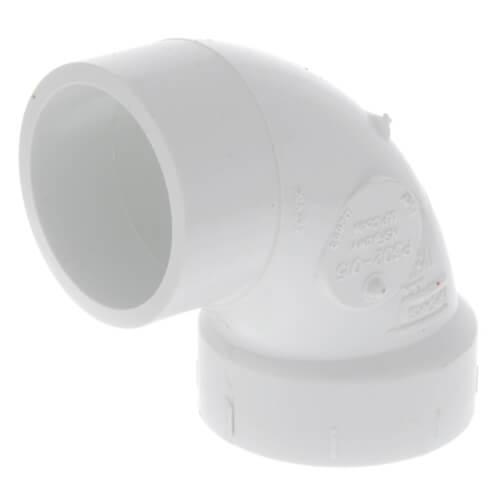"1-1/2"" PVC DWV Street 90° Elbow Product Image"