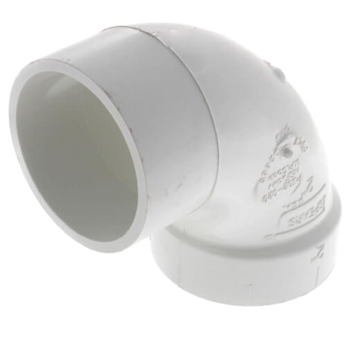 "2"" PVC DWV Street 90° Elbow Product Image"