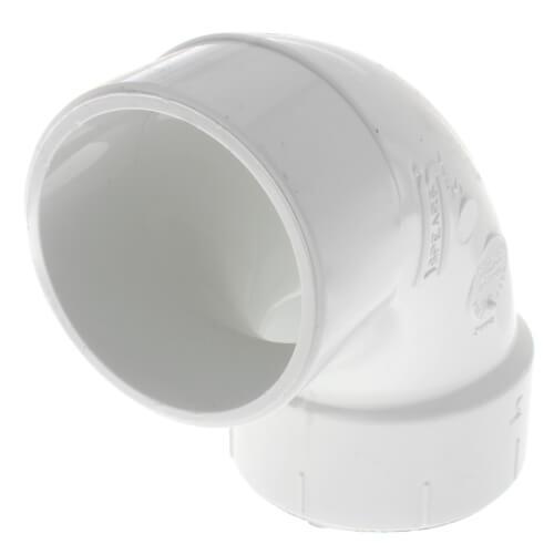 "3"" PVC DWV Street 90° Elbow Product Image"