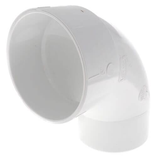 "10"" PVC DWV Street 90° Elbow Product Image"