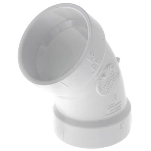 "2"" PVC DWV 45° Elbow Product Image"