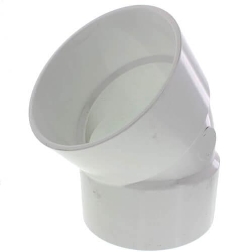 "10"" PVC DWV 45° Elbow Product Image"