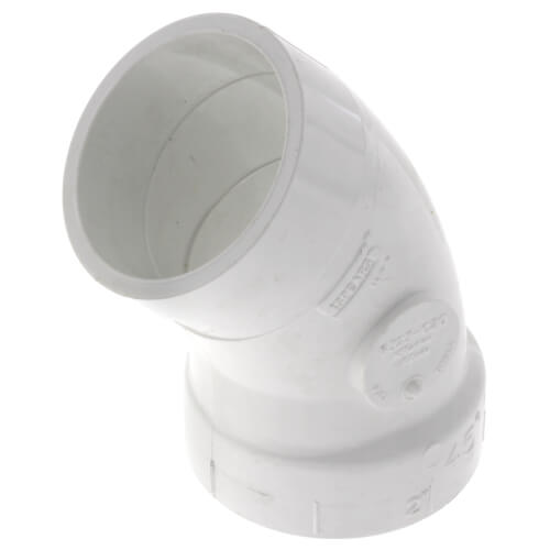 "2"" PVC DWV 45° Street Elbow Product Image"