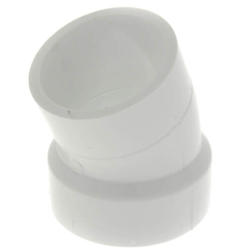 "1-1/2"" PVC DWV 22.5° Street Elbow Product Image"