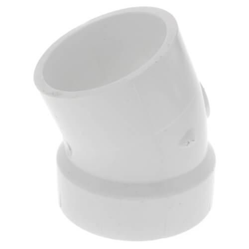 "2"" PVC DWV 22.5° Street Elbow Product Image"