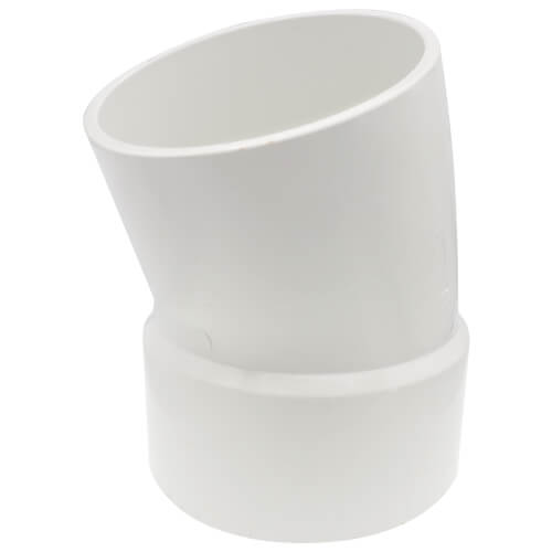 "6"" PVC DWV 22.5° Street Elbow Product Image"